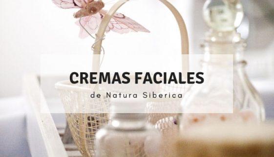 Cremas faciales de Natura Siberica